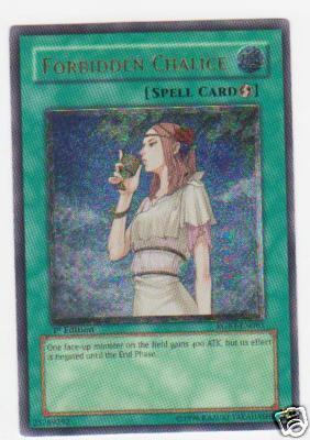 Forbidden Chalice - RGBT-EN061 - Ultimate Rare - Unlimited Edition
