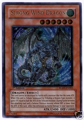 Strong Wind Dragon - RGBT-EN003 - Ultimate Rare - Unlimited Edition