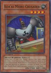 Koa'ki Meiru Crusader - ANPR-EN019 - Super Rare - Unlimited Edition