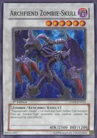 Archfiend Zombie-Skull - ANPR-EN042 - Super Rare - Unlimited Edition