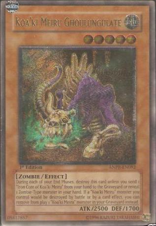 Koaki Meiru Ghoulungulate - ANPR-EN082 - Ultimate Rare - Unlimited Edition