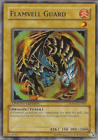 Flamvell Guard - HA01-EN009 - Super Rare - Unlimited Edition