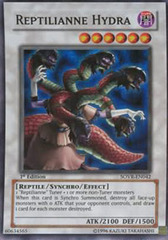 Reptilianne Hydra - SOVR-EN042 - Super Rare - Unlimited Edition