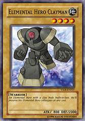 Elemental Hero Clayman - YSDJ-EN007 - Common - Unlimited Edition