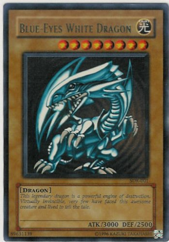 Blue-Eyes White Dragon - SDK-001 - Ultra Rare - Unlimited Edition
