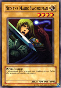 Neo the Magic Swordsman - SYE-012 - Common - Unlimited Edition