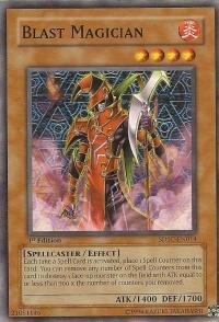Blast Magician - SDSC-EN014 - Common - Unlimited Edition