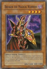 Breaker the Magical Warrior - SDSC-EN011 - Common - Unlimited Edition