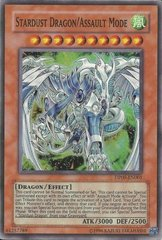 Stardust Dragon/Assault Mode - DP09-EN001 - Super Rare - Unlimited Edition
