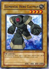 Elemental Hero Clayman - DP1-EN003 - Common - Unlimited Edition