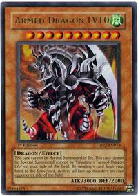Armed Dragon LV10 - DP2-EN013 - Ultra Rare - Unlimited Edition