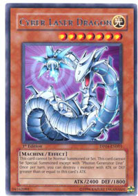Cyber Laser Dragon - DP04-EN003 - Rare - Unlimited Edition