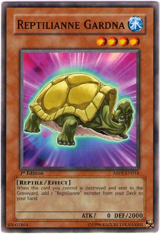 Reptilianne Gardna - ABPF-EN016 - Common - Unlimited Edition