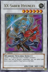 XX-Saber Hyunlei - ABPF-EN044 - Ultra Rare - Unlimited Edition