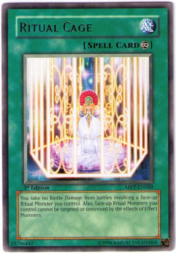 Ritual Cage - ABPF-EN060 - Rare - Unlimited Edition