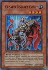 XX-Saber Boggart Knight - TSHD-EN000 - Super Rare - Unlimited Edition
