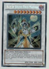 Ally of Justice Field Marshal - HA02-EN030 - Secret Rare - Unlimited Edition