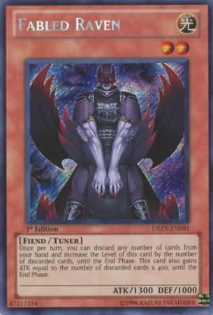 Fabled Raven - DREV-EN091 - Secret Rare - Unlimited Edition