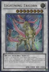 Lightning Tricorn - DREV-EN042 - Ultimate Rare - Unlimited Edition