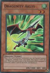 Dragunity Aklys - SDDL-EN003 - Super Rare - Unlimited Edition