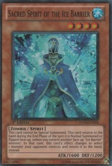 Sacred Spirit of the Ice Barrier - HA04-EN024 - Super Rare - Unlimited Edition