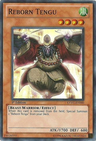 Reborn Tengu - EXVC-EN000 - Super Rare - Unlimited Edition