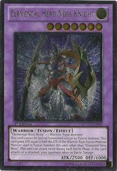 Elemental Hero Neos Knight - Ultimate - EXVC-EN093 - Ultimate Rare - Unlimited