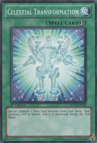 Celestial Transformation - SDLS-EN028 - Common - Unlimited Edition