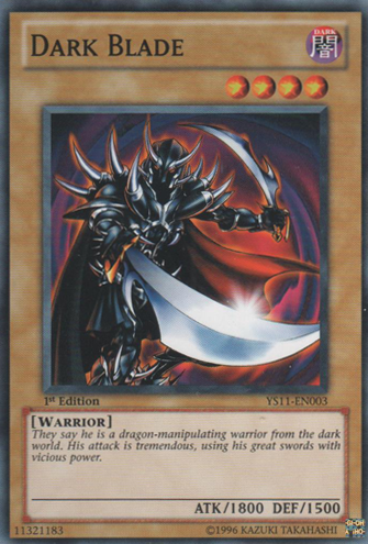 Dark Blade - YS11-EN003 - Common - Unlimited Edition
