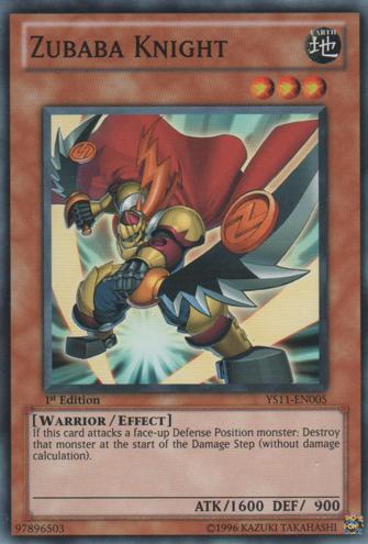 Zubaba Knight - YS11-EN005 - Common - Unlimited Edition