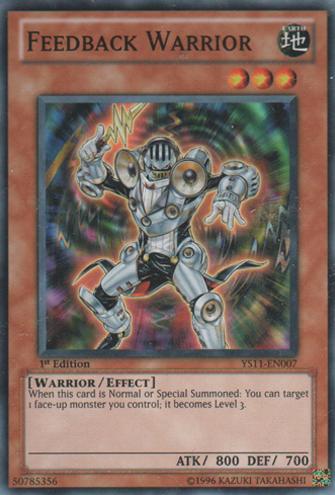 Feedback Warrior - YS11-EN007 - Common - Unlimited Edition