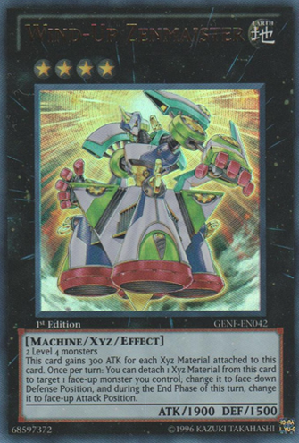 Wind-Up Zenmaister - GENF-EN042 - Ultra Rare - Unlimited Edition