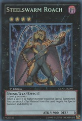 Steelswarm Roach - GENF-EN099 - Secret Rare - Unlimited Edition