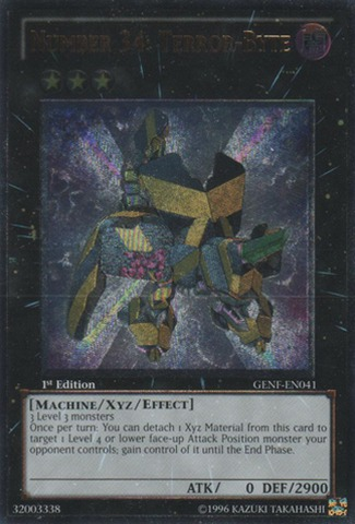 Number 34: Terror-Byte - GENF-EN041 - Ultimate Rare - Unlimited Edition