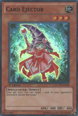 Card Ejector - LCGX-EN032 - Super Rare - 1st Edition