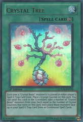 Crystal Tree - LCGX-EN170 - Ultra Rare - 1st Edition