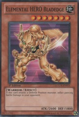 Elemental HERO Bladedge - LCGX-EN013 - Common - 1st Edition