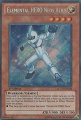 Elemental HERO Neos Alius - LCGX-EN028 - Secret Rare - 1st Edition