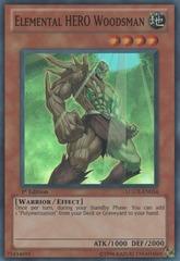 Elemental HERO Woodsman - LCGX-EN034 - Super Rare - 1st Edition