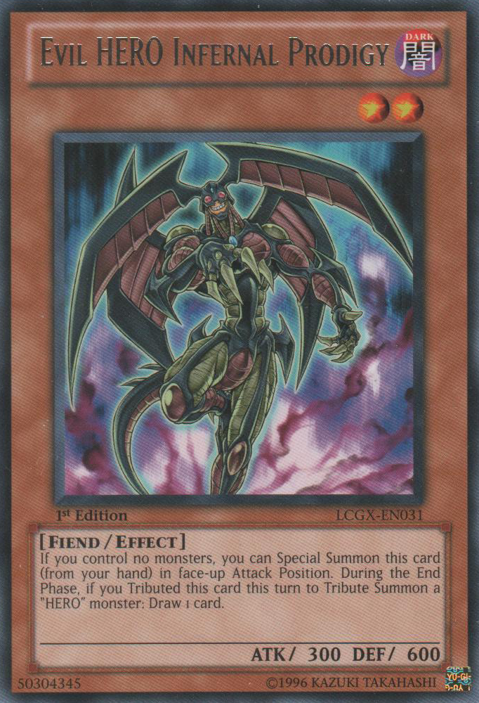 Destiny HERO Common Unlimited Edition LCGX-EN130 Fear Monger