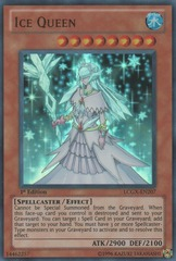 Ice Queen - LCGX-EN207 - Ultra Rare - 1st Edition