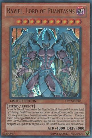 Raviel, Lord of Phantasms - LC02-EN003 - Ultra Rare - Limited Edition