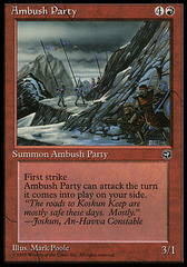 Ambush Party (Mountainside)