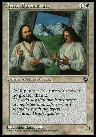Aysen Bureaucrats (Quote Murat, Death Speaker)