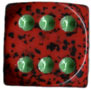 36mm Speckled d6 Strawberry w/ spots - DS3635