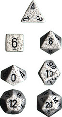 Arctic Camo Speckled d20 - PS2087