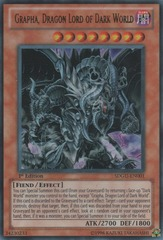 Grapha, Dragon Lord of Dark World - SDGU-EN001 - Ultra Rare - 1st Edition on Channel Fireball