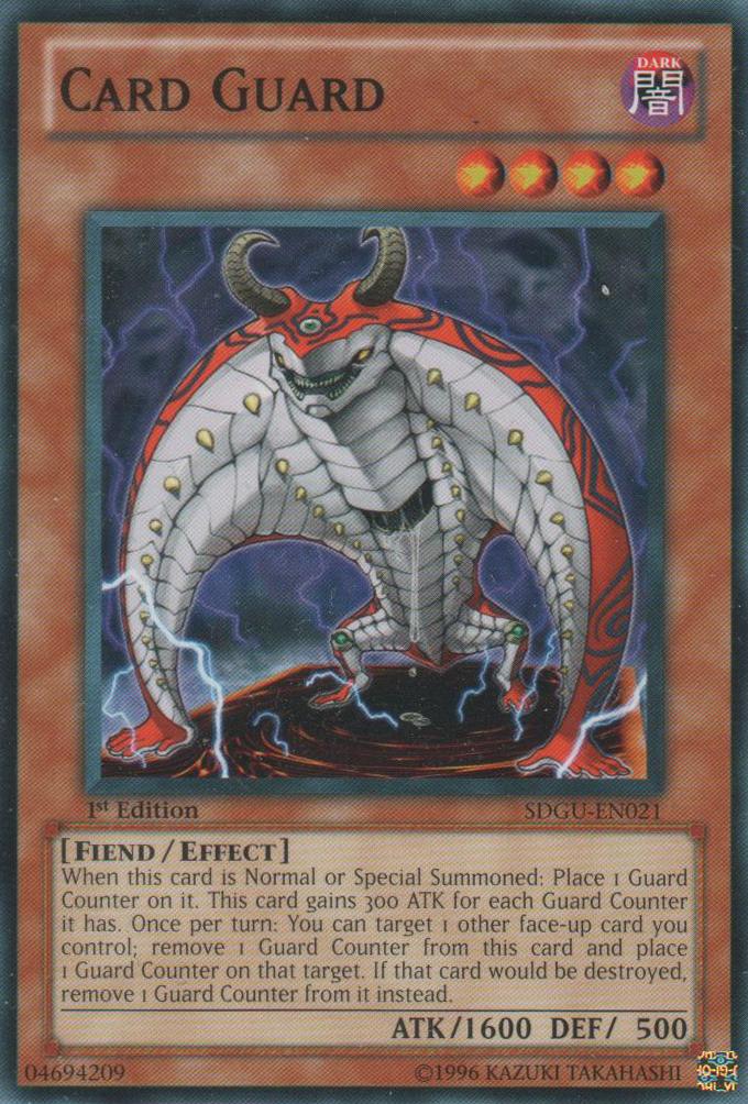 Card Guard - SDGU-EN021 - Common - 1st Edition
