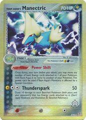 Team Aqua's Manectric - 4/95 - Holo Rare - Reverse Holo