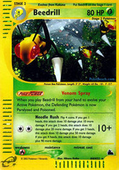 Beedrill - H4/H32 - Holo Rare - Reverse Holo